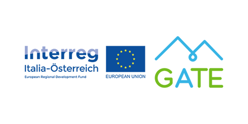 Logo Interreg GATE Project I Tourismusforschung.online